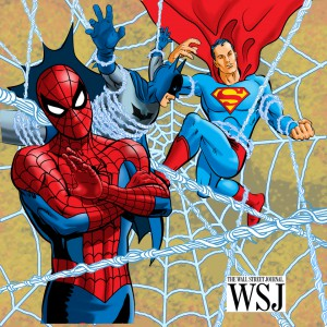 wall street journal spiderman